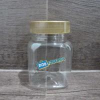 BOTOL CAKE IN JAR / CABE / SELAI 150-200 GRAM TUTUP EMAS