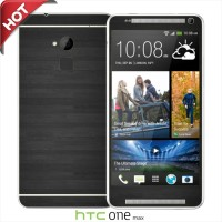 Garskin/skin Htc One Max Original - Motif Grey Black Case Wood