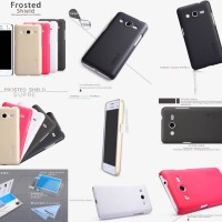 Nillkin Hard Case/casing back + anti gores Samsung Galaxy Core 2 Duos