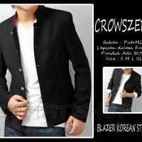 harga Blazer Crowszero - Semi Jas Pria Slimfit Bodyfit Korea Murah Keren Tokopedia.com