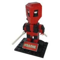 harga Hsanhe 6323 Action Figure Lego Cube Micro World Series Deadpool Tokopedia.com