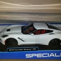 diecast miniatur mobil maisto 2014 corvette stingray Z51