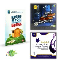 harga Paket Buku Ustadz Dr. Syafiq Basalamah Tokopedia.com
