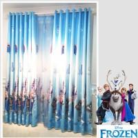 Jual Gorden Frozen Blackout Import Cocok Untuk Di Ruang Tamu Atau Kamar Murah