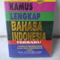 harga Kamus Lengkap Bahasa Indonesia Terbaru (kamus Saku) Tokopedia.com
