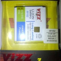 Baterai Vizz Samsung Galaxy Mega / Duos  Double Power i9152 5200 mAh
