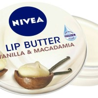 NIVEA Lip Butter Lip Balm Vanilla & Macadamia Kiss 16.7gram