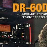 "TASCAM ""DR-60D MK-II"" Linear PCM Recorder for DSLR"