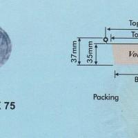 Aluminium Tray - Round Base RX 75 (65x35)