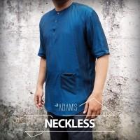Adams Neckless- Model Busana Muslim Pria Eksklusif-Koko Modern