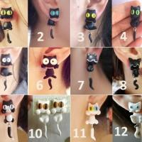 harga Grosir Anting Clay Handmade Kucing Panda Mickey Mouse Macaron Tokopedia.com