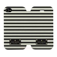 Kate Spade Striped Iphone 4-4S Custom Flip Cover Case