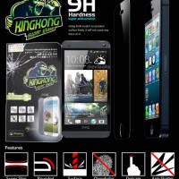 Kingkong Tempered Glass HTC One M7 Screen Protector