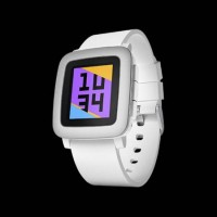 Smartwatch Pebble Time - White Original