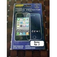 Anti Gores Glare Screen Guard Protector Sony Xperia J St26i