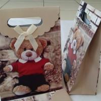 harga Paper Bag/goodie Bag/kantong Karton Teddy Bear Tokopedia.com
