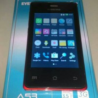 EVERCOSS A53 ANDROID 3.5INCH 3G/HSDPA ANDROID KITKAT
