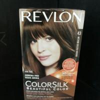 Revlon Cat Rambut Color Silk No. 43 Medium Golden Brown
