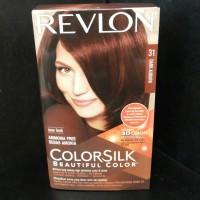 Revlon Cat Rambut Color Silk No. 31 Dark Auburn