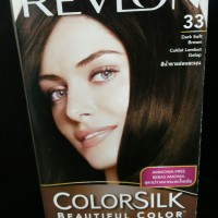 Revlon Cat Rambut Color Silk No. 33 Dark Soft Brown