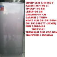 Kulkas Merek Sharp Seri SJ M 180 F