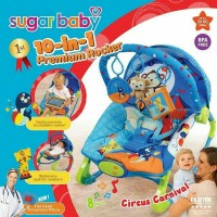 Bouncer sugar baby 10 in 1 Circus Carnival