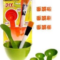 Harga set mangkok kuas pengaduk dan 3 sendok peracik masker   Pembandingharga.com
