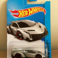Hot Wheels Lamborghini Veneno Silver