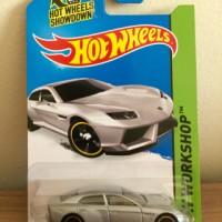 Hot Wheels Lamborghini Estoque Silver