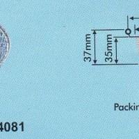 Aluminium Tray - Round Base RX 14081 (37x78)
