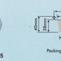 Aluminium Tray - Round Base RX 145 (91x38)