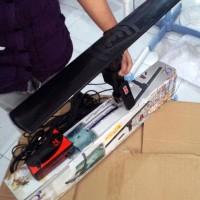 Antena TV REMOTE Q2 DIGITAL Outdoor UHF VHF Remot LED ROTATING ANTENNA