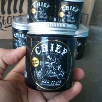 Chief Solid Black Waterbased Pomade