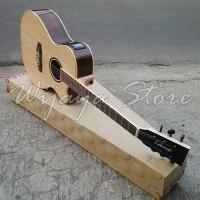 Gitar lakewood maple CNC inlay Sunghuajung LCD equalizer