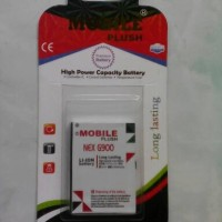 Batre Batrai Battery Double Power 2000mah Nexian G900 Original Mobile