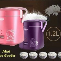 mini Rice Cooker + Warmer Otomatis