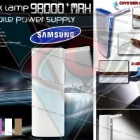 harga Power Bank SAMSUNG 98000mAh | Flexible LED | 3 USB Tokopedia.com
