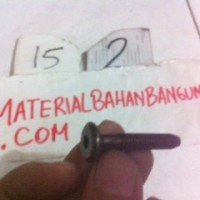 baut JCBC baut ligna baut furniture diameter 6 mm panjang 3,5 cm