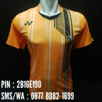 harga Jersey Bulutangkis / Badminton Yonex #y16 Orange Tokopedia.com