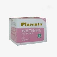 Placenta Whitening Night Cream 20gr