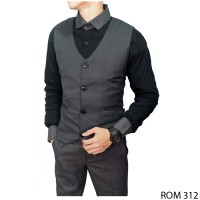 Casual Vests For Guys Katun Abu ROM 312