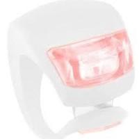 Light Knog Rear Red Light WHITE