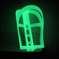 Accessory Velocity Bottle Cage GLOW IN THE DARK