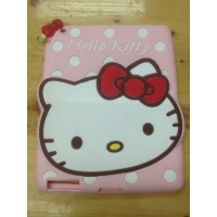 Sarung Silicone Case Gambar Hello Kitty Melody Apple iPad 2 3 4