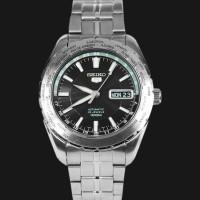 Jual Seiko 5 SNZG53K1 Jam Tangan Pria SNZG53 Automatic Black Silver Ori Murah