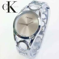 Jam Tangan Wanita Calvin Klein / CK Bangle Silver