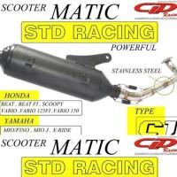 harga Knalpot Cld Std Racing Vario 125 / Vario 150 Tokopedia.com