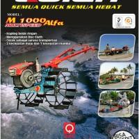Traktor tangan quick M 1000 Alfa untuk bajak sawah
