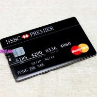Flashdisk Model Credit Card HSBC ( Kapasitas 8 Gb )