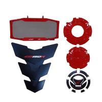 Paket Aksesoris Resmi Honda New CB 150R StreetFire - Red